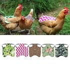 Premium Chicken Saddle Poultry Saver Hen Apron Back Protector, 5 Styles