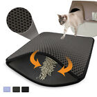 Cat Litter Mat Double Layers Waterproof Litter Cat Pads For Cats House toilet