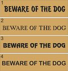 Beware Of The Dog Letterbox Decal Modern Home Decor Sticker Front Door House