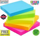 Post-it Super Sticky Notes, 3 in x 3 in, Assorted Bright Colors 100 Sheets/Pad