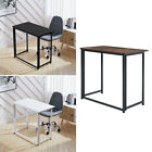 Wooden Folding Computer Desk Study Coffee Table Foldable Laptop Office Classroom