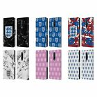 ENGLAND FOOTBALL TEAM CREST PATTERN LEATHER BOOK CASE FOR BLACKBERRY ONEPLUS