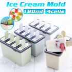 4 Lattice Cavity Popsicle Mould Cake Baking Mould DIY Ice Cream Mold US v