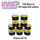 Pennzoil V2 5 x Barrel Drum 1:32 Scale Slot Car Track Scenery Wasp 55