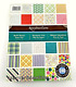 Recollections  Bold Basics Paper Pad 240 Sheets Scrapbook Paper 8.5 X 11  NEW