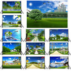 Summer Blue Sky Background Cloth Photography Backdrop Props