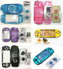 Full Housing Shell Case Faceplate Case Repair Parts For PSP 3000 PSP3000 Console