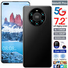 Mate45 Pro Android 10.0 8G 128G 6.8'' 5G-LTE Race Recognition Mobile Smart Phone