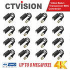 VIDEO BALUM 8MP VIDEO PASSIVE UTP HD CVI TVI AHD COAXIALl BNC TO UTP 4K / HD