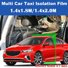 Plastic Car Taxi Uber Lyft Cab Divider Film Isolation Partition Protective New