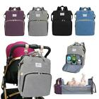 Portable Diaper Bag Folding Baby Travel Large Backpack Baby Bed Mommy Big Bags