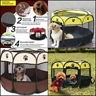 Portable Octagonal Fence Pet Folding Tent Playpen Puppy Kennel Easy Operation