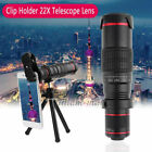 Universal 22X Zoom Telephoto Phone Camera Lens For iPhone 12 11 Pro XS Max SE 2