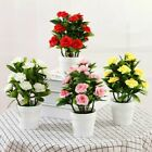 Uk Artificial Potted Flowers Plants In Pot Outdoor Home Office Garden Decor