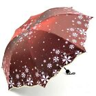 New Arrival Beautiful Flowers Umbrella Fashion Glitter Color Changing Blossom