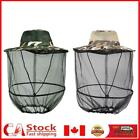 Insect Mesh Cap Midge Hat Head Face Protector for Outdoor Fishing