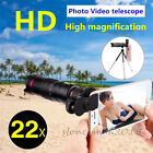 Universal 22x Zoom Telephoto Camera Lens For Tablets iPad Pro iPhone Samsng S20