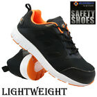 MENS NEW LIGHTWEIGHT SAFETY TRAINERS STEEL TOE CAP WORK HIKING SHOES BOOTS SIZE
