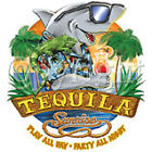 "New White T Shirt "" Tequila Sunrise Party "" Sz SM - 5XL"