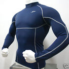 Take Five Mens Compression 013 Sports Top Navy All Size