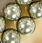 12mm Natural Golden khaki Pyrite Round Beads 16""