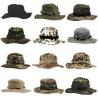 CLASSIC US COMBAT ARMY STYLE GI BOONIE BUSH JUNGLE HAT SUN CAP COTTON RIPSTOP