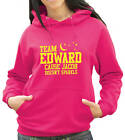 Team Edward Hoody - Twilight Hoody - Yellow Print (894)