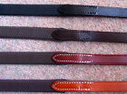 Stubben German Leather Flexible Rubber Grip Reins NEW