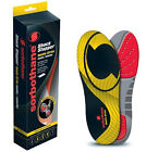 Sorbothane DOUBLE STRIKE Shock Insole Orthotic Foot Heel Pad Shoe Support Sports