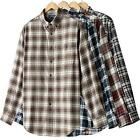Croft & Barrow Men's Flannel Plaid Shirt ~$26~LG~NWT