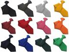 Plain Workwear Tie Security Ties and Safety Clip Ons