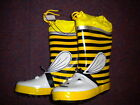 PEX BEE FUNKY DESIGN WELLIES FOR KIDS 7-12 JUNIOR