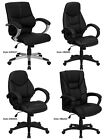 Office & Home Office Mid & High Back Leather Arm Chairs