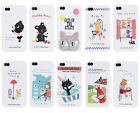 Shinzi Katoh Jelly Case Cover Apple iPhone 4G + Cleaner