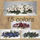 Magnolia Swag Silk Flowers Arrangement