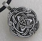 Triquetra Triangle Trinity Celtic Knot Norse Viking Scandinavian Pewter Pendant