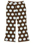 GYMBOREE GIRLS BEST FRIEND BROWN w/ BLUE DOT KNIT PANTS 3 4 6 7 8 NWT