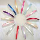 Double faced Satin Ribbon 10MM - 50 Metres- All Colours