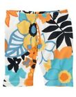 GYMBOREE TROPICAL BLOOM MULTI COLOR FLORAL BIKE SHORTS 3 4 5 6 7 8 9 NWT