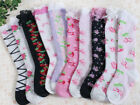 Set 10 Rosette Princess Knee High Socks 15-19/20-24CM