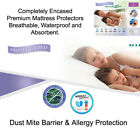 AllerZip Anti Allergy Bedbug Proof Mattress Cover FREE