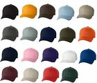 FLEXFIT Structured Twill Hat FITTED Size S/M L/XL 2XL Sport Baseball Cap 6277