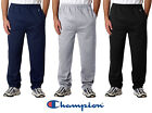 Champion Sports NEW Mens Size S-2XL S245 OPEN BOTTOM Pocket Sweatpants 50/50