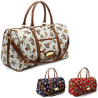 New Boston Large bag Duffle Gym Travel Messenger Tote Bags Little Bear Printed