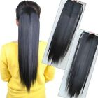 Fashion Woman's Girl 55cm Straight Ponytail Pony Clip in Hair Extensions KP05-1