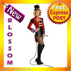 C330 Ring Mistress Circus Showgirl Fancy Dress Halloween Ladies Costume Outfit