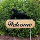 American Cocker Spaniel  Dog Figure Welcome Sign Stake. Home Decor Yard Products