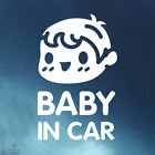 New Car Window Signs Decals Adhesive Sticker Boy & Girl _ Baby in Car Ver.2