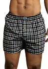 6 Pack Mens Boxers 100% Cotton Underwear Fashion Trunk Plaid Shorts Size S~XXXL