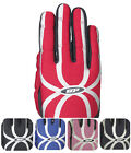 deBeer DB Response Women's Lacrosse Field Gloves Black Red Silver NEW S M L XL